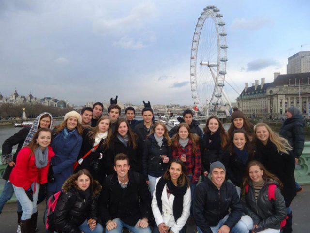 Intercambistas do Fisk retornam de Londres