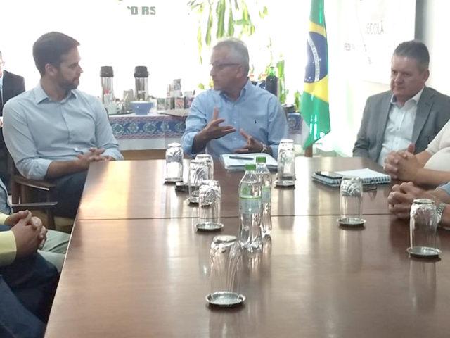 Cotrijal participa de reunião com o governador eleito