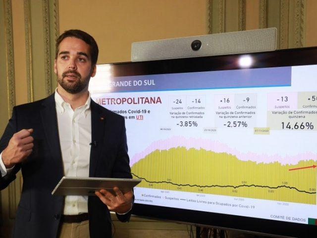 """""""Não estamos vivendo um momento de normalidade"""", relembra governador em transmissão ao vivo"""