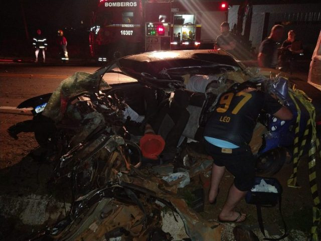 Homem morre em colisão frontal na BR-285 em Passo Fundo