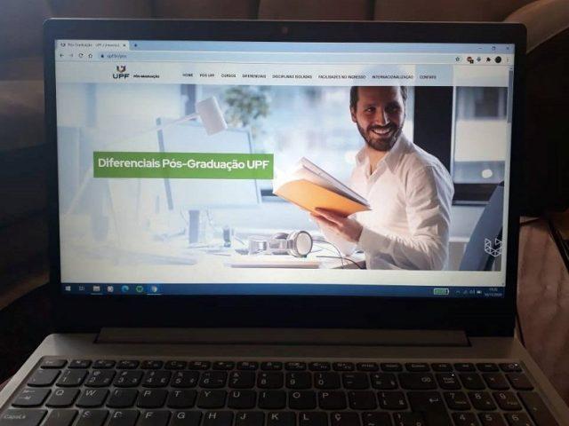 UPF inova e amplia portfólio de cursos de pós-graduação totalmente online
