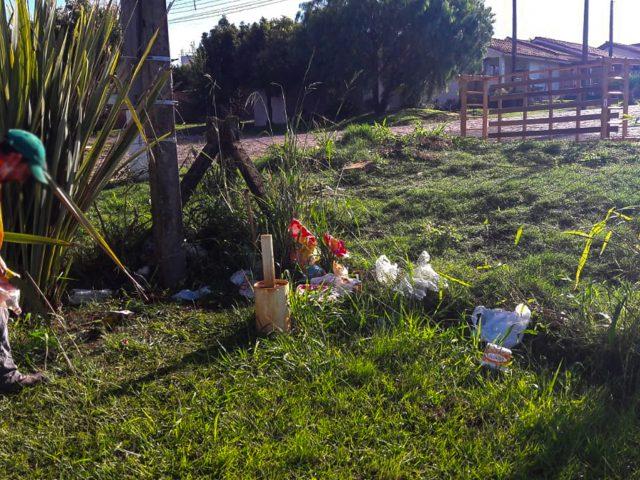 O Grupo Família Integrada realizou ações de embelezamento no Cemitério Municipal