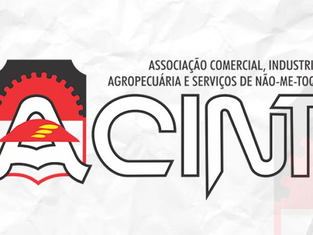 Acint apoia Administração de Não-Me-Toque em campanha por doação de recursos
