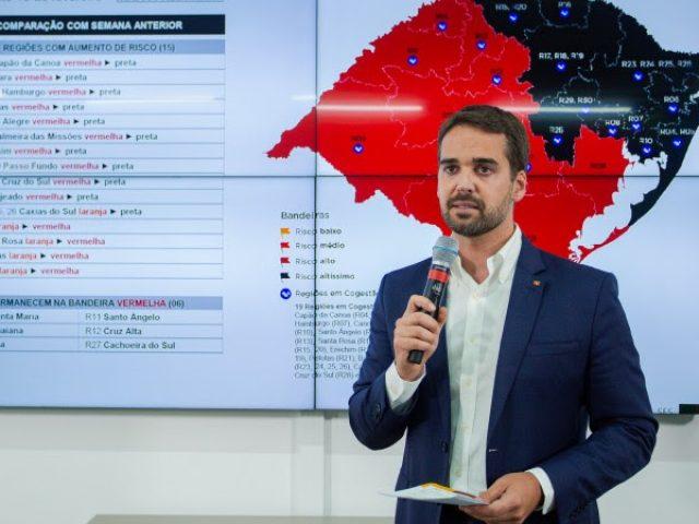"""""""É o pior momento que enfrentamos"""", afirma Leite, sobre situação da pandemia no RS"""