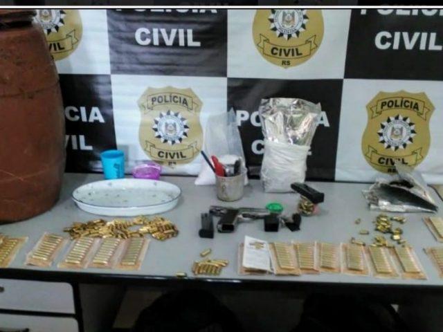 PC cumpre 27 mandados de prisão em mega operação em Sarandi