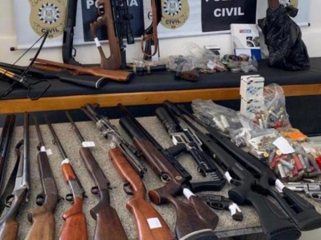 Vice-prefeito de Nonoai é preso durante operação contra o tráfico de drogas e armas