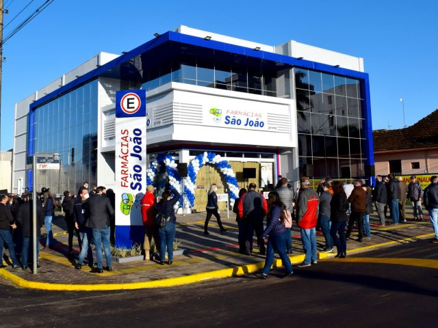 Rede São João inaugura segunda farmácia em Não-Me-Toque