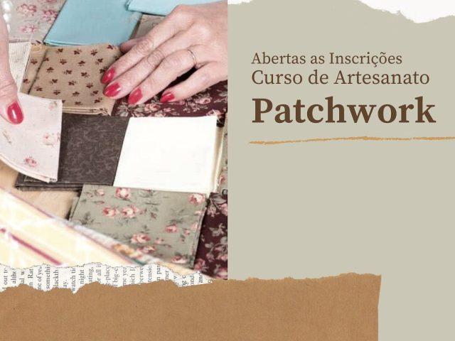 Estão abertas inscrições para curso de Patchwork em Victor Graeff