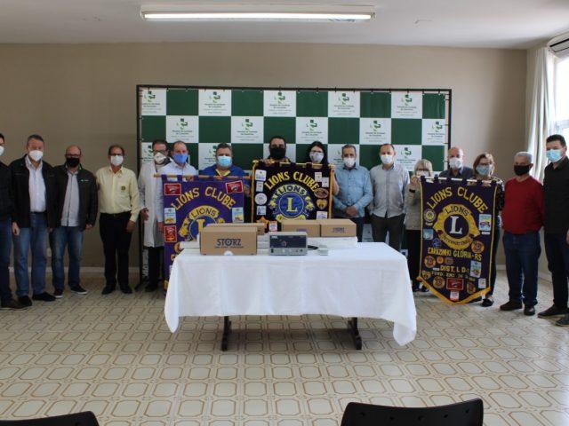 Lions Clubes de Carazinho através da Fundação Internacional, adquirem equipamentos para bloco cirúrgico do HCC