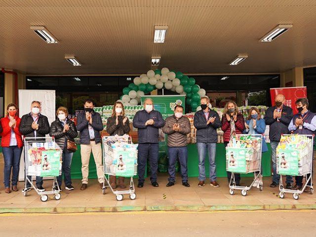 DIA C: Campanha da Cotrijal arrecada 18,5 toneladas de alimentos