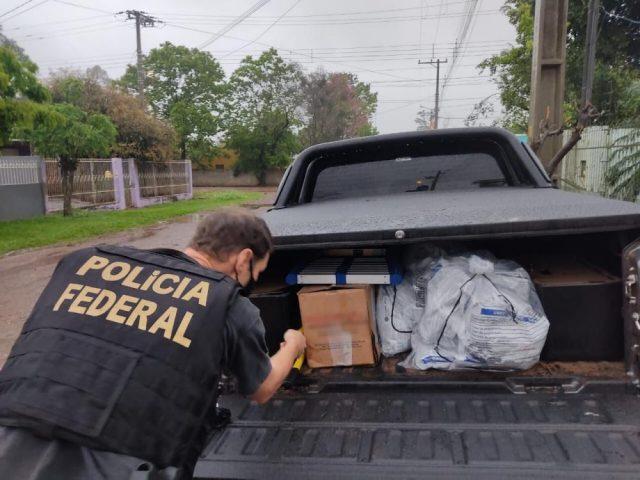 Homem é preso pela PF em ação contra contrabando de agrotóxicos no RS
