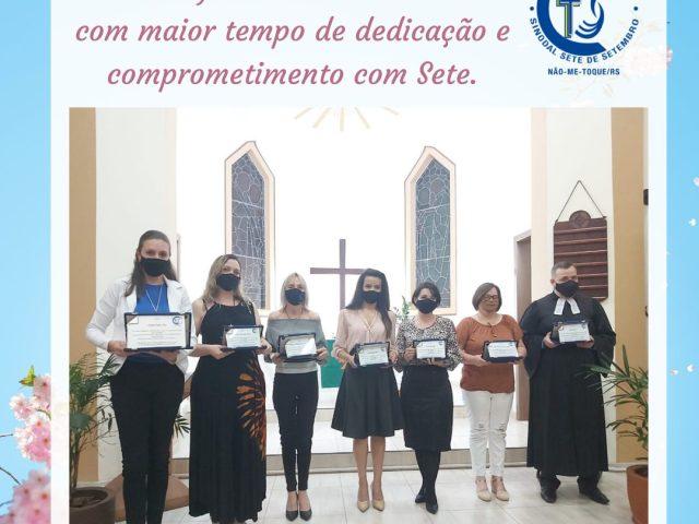 Escola Sinodal Sete de Setembro celebra 107 anos da instituição em culto especial