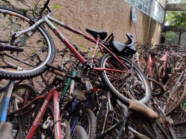 Bicicletas apreendidas serão reformadas por adolescentes e entregues nas escolas de Lajeado