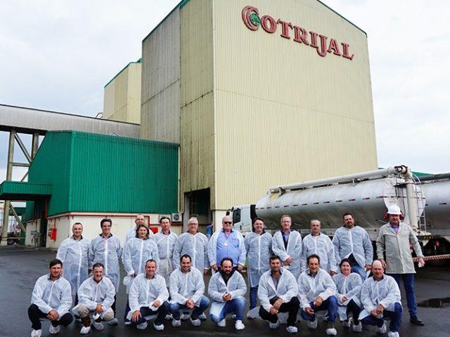 Cotrijal recebe visita de conselheiros da Coagrisol